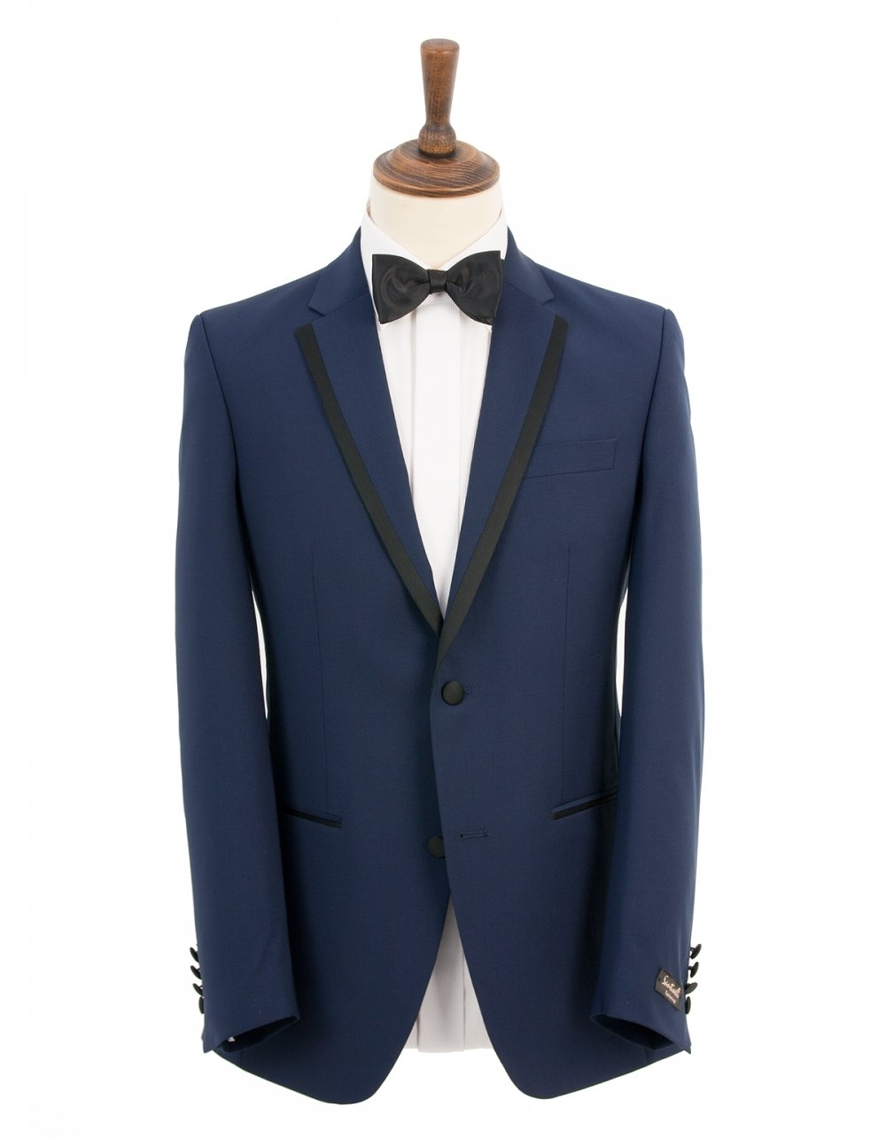 Hazan Stretch Midnight Blue 3 Piece Dress Suit