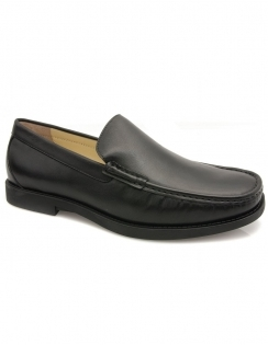 Montana Slip On Moccasin - Black
