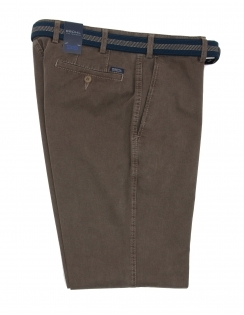 Montana Stretch Cotton Chino - Soft Taupe