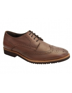 Newing Leather Brogue - Brown