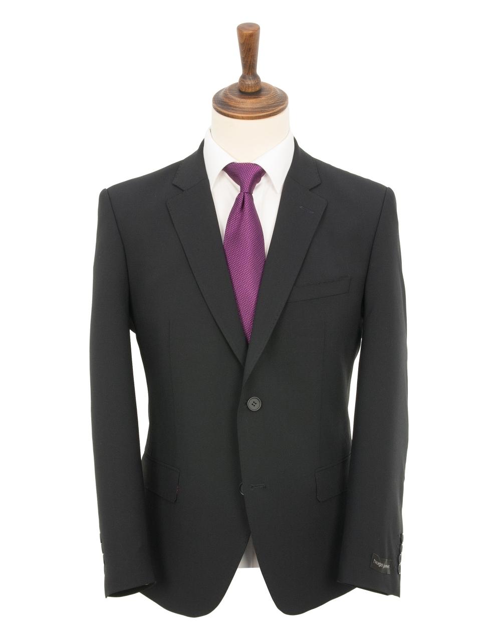 a5e5371afaa8 Plain Quattro Bi-Stretch Suit - Dark Navy