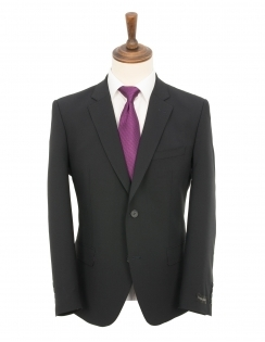 Plain Quattro Bi-Stretch Suit - Dark Navy