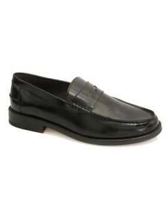 Portobello Leather Loafer - Black