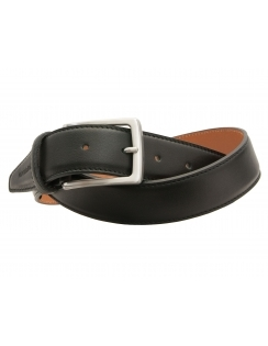 Premium Italian Leather Belt - Black