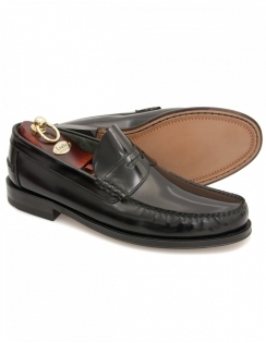 Princeton Polished Loafer - Black