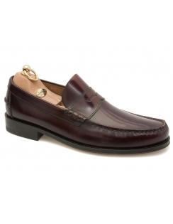 Princeton Polished Loafer - Burgundy