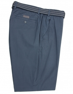 Pure Cotton Elastic Waist Trouser-Navy
