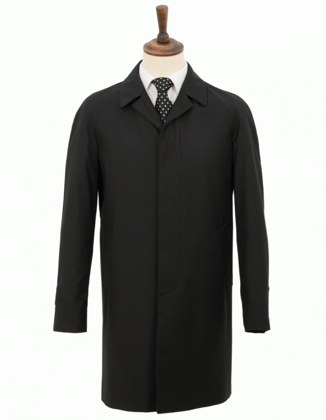 Wellington Redhill Raincoat - Black