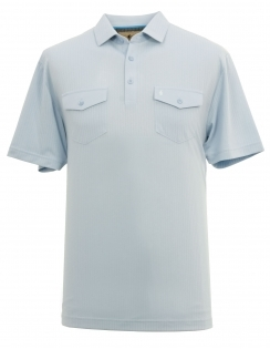 Ribbed Jersey Shirt - Sky