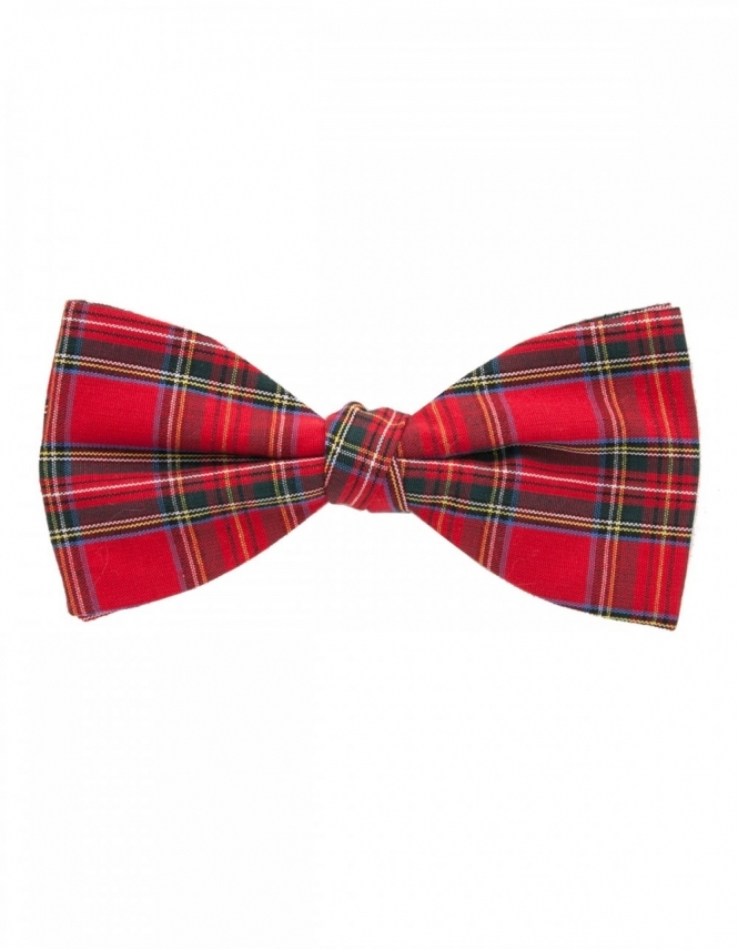 Van Buck Royal Stuart Tartan Bow Tie