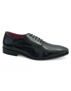Rubin Punch Detail Oxford - Navy