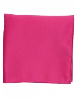 Satin Pocket Square Cerise