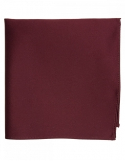 Satin Pocket Square Wine