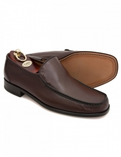 Siena Dark Brown Nappa Moccasin