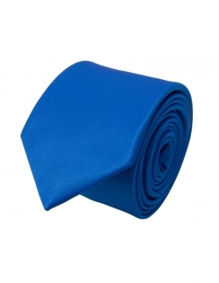 Slim Satin Tie - Royal