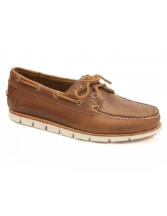 Tidelands Sensorflex 2 Eye Leather Boat Shoe - Sahara