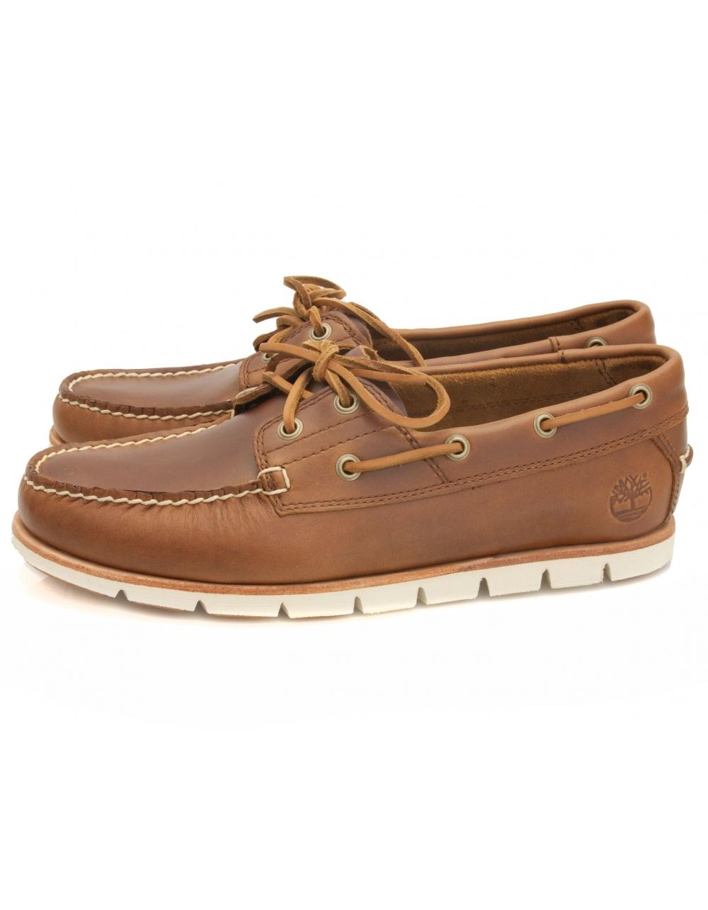 95955d9d159e3 Tidelands Sensorflex 2 Eye Leather Boat Shoe - Sahara | Fields Menswear