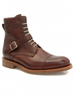 Uxbridge Lace Up Boot - Cherry Grain