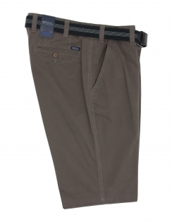 Venice B Cotton Chino With Stretch Waistband - Olive