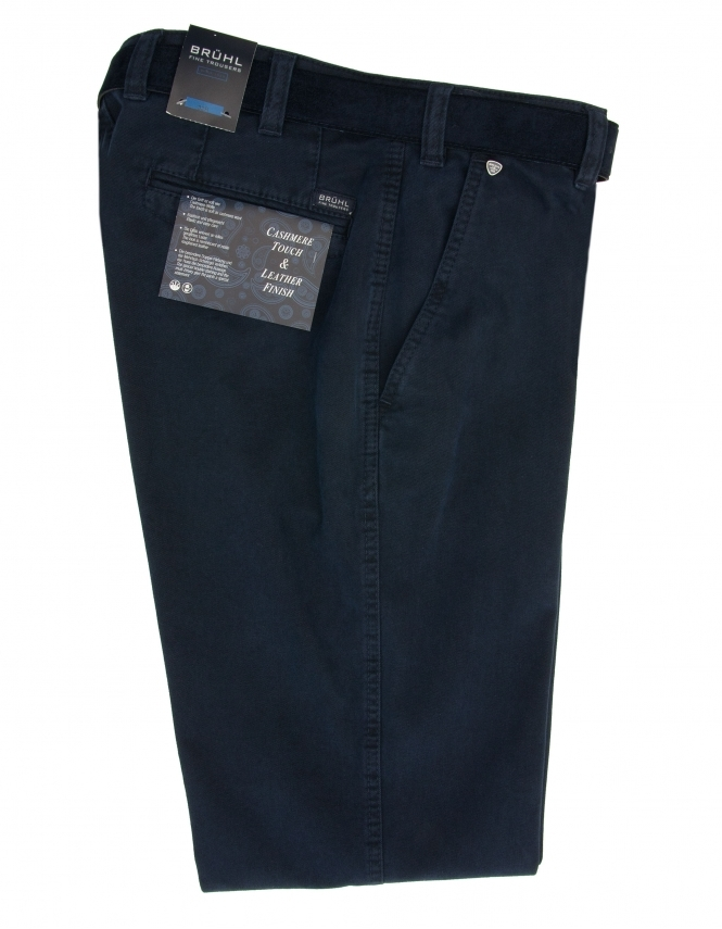 Bruhl Venice Cotton Chino - Marine
