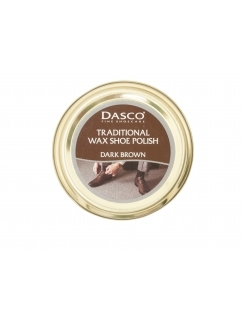 Wax Shoe Polish - Dark Brown