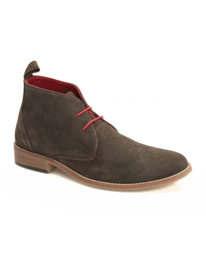 Maybury Zain Suede Chukka Boot - Brown